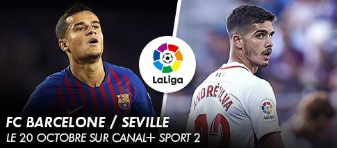 Liga - FC BARCELONE / SEVILLE