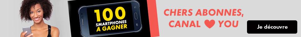 100 Smartphones à gagner
